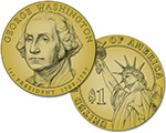 $1 Coins Washington